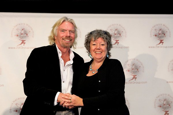 Sir Richard Branson at Genius Network Meeting