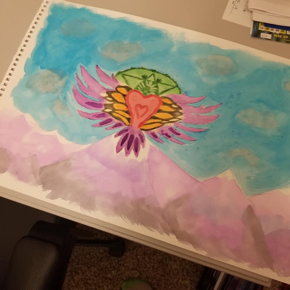Participant's Watercolor